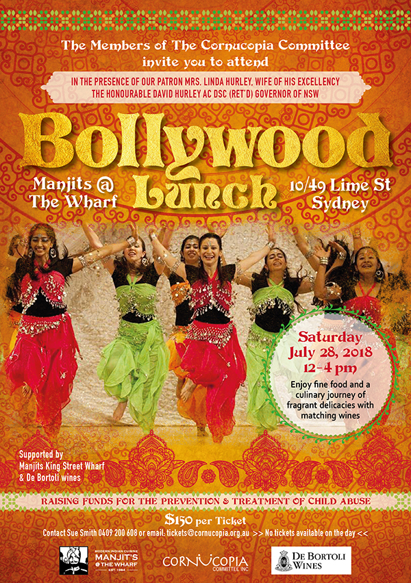 Cornucopia Invite Bollywood Lunch