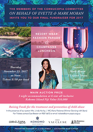 Resort Wear Fashion Parade and Champagne Luncheon