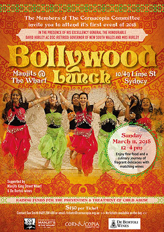 Bollywood Lunch March 11 2018