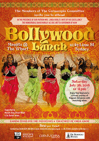Cornucopia Invite Bollywood Lunch