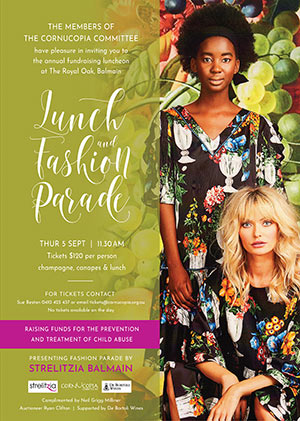 SAVE THE DATE for our 2019 Fashion Parade