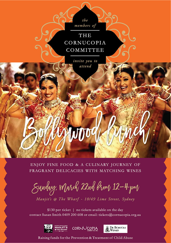 Manjits Bollywood Lunch Sunday March 22nd 2020