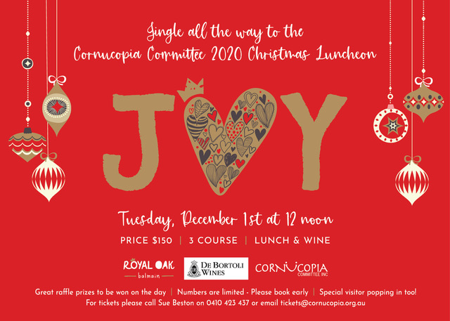 Cornucopia Committee2020 Christmas Luncheon